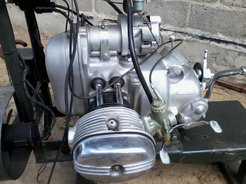 Dnepr K 750 Mw 750 Ural M72 Bmw Lichtmaschine Neu 12 V